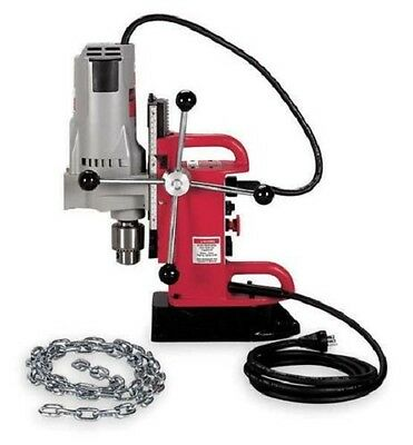 Milwaukee 4210-1 Fixed Position Electromagnetic Drill Press With 34 In. Chuck