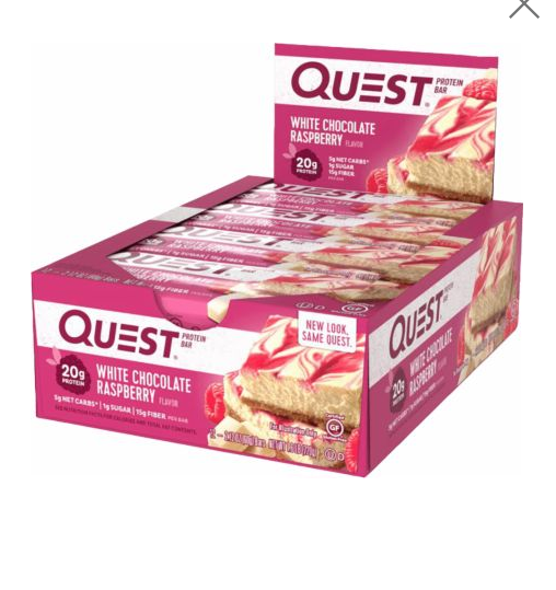 Quest Nutrition Quest Bars Whey Protein Bar for Building Mus