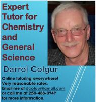Chemistry and Math Tutoring
