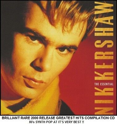 Nik Kershaw The Very Best Greatest Hits Collection 80's Electronic Synth Pop