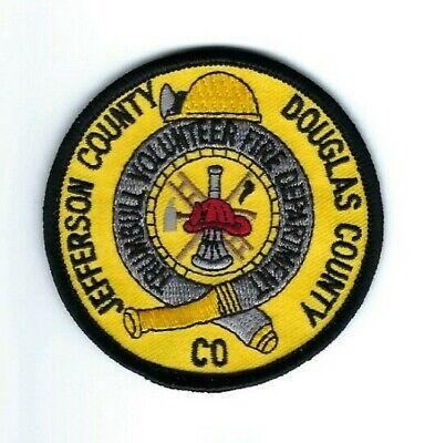 Trumball (Jefferson & Douglas Co.) CO Colorado Volunteer Fire Dept. patch - NEW!