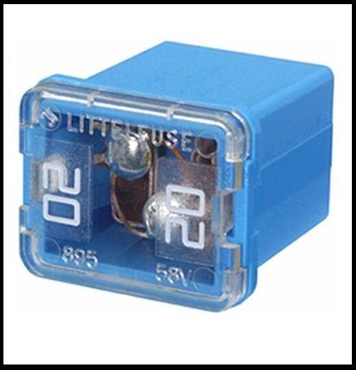 Hella 8JS 740 026-731 Sicherung D 227  blau 20 A