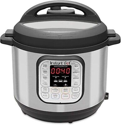 Instant Pot DUO60 v3 6Qt 7-in-1 Multi-Use Programmable Pressure Cooker