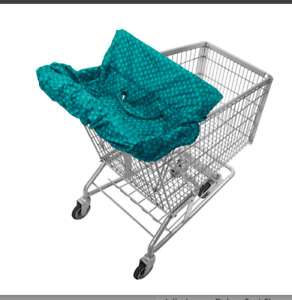 Jolly Jumper Deluxe Sani-Shopper  Cart Cover with Safety Belt