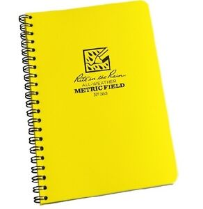 Rite-in-the-Rain-363-All-Weather-Metric-Field-Spiral-Notebook