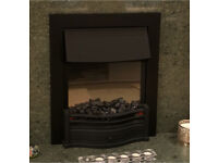Electric Fire with LED fire flicker DIMPLEX DAN20BLK