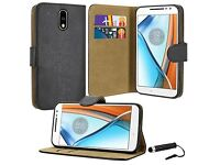 Free Motorola Moto G4 Phone Case with Screen Protector & Stylus Pen