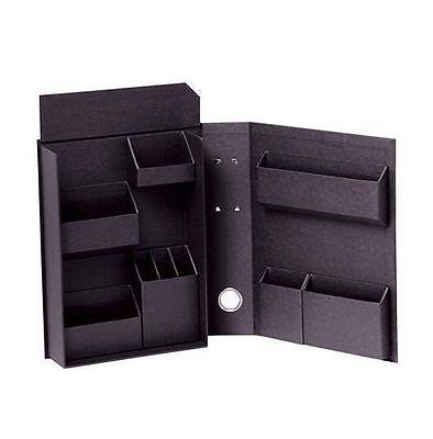 NEW Stationery Cosmetics Medicine Storage box B5 Black file type