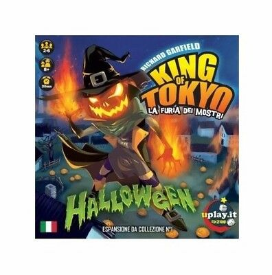 KING OF TOKYO Halloween Espansione Gioco di Carte UPLAY NEW FACTORY SEALED ITA