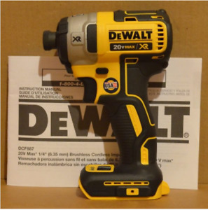 New Dewalt DCD887 Impact Driver Tool Only