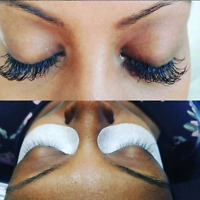 $60- Eyelash Extension - Ombre Purple/ Blue- Aug special