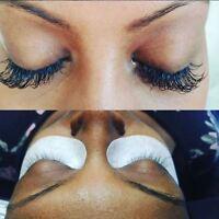 $55 - Eyelash Extension- October Special