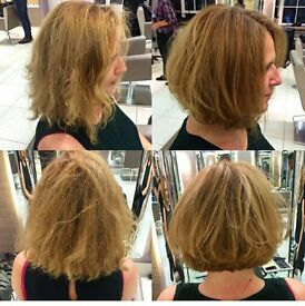 looking for a model for free haircut shoulder length&above. Sloane Square. Top quality products used