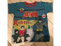 Boys Batman top age 9/10