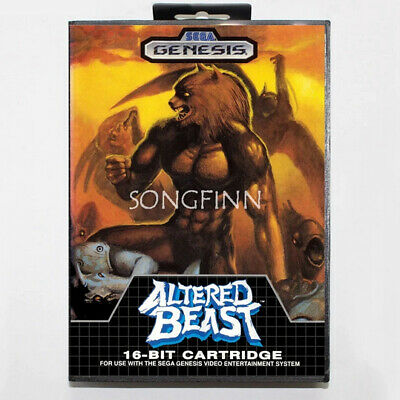 Altered Beast Game Sega Mega Drive with Box