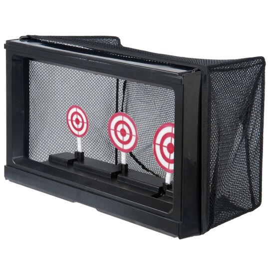 WELL AUTO RESET SHOOTING TARGET w/ MESH NET BB CATCHER TRAP No Battery Required