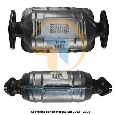 BM91369 Exhaust Petrol Catalytic Converter +Fitting Kit +2yr Warranty