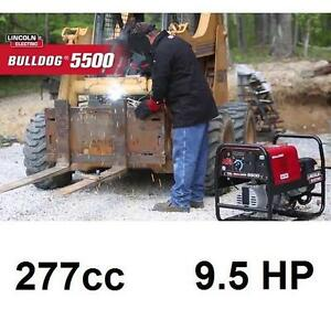AS IS LINCOOLN ELECTRIC 5500 WELDER - 132736000 - ARC/STICK WELDERS PORTABLE WELDING SOLDERING MACHINES UP TO 140 AMP...