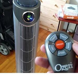 """NEW OZERI 42"""" ULTRA WIND TOWER FAN OSCILLATING FANS REMOTE - AIR QUALITY CONTROL COOLING CONDITIONERS HOUSEHOLD"""