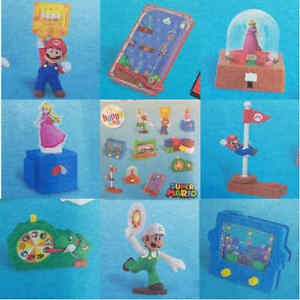 McDonalds Happy Meal Toy 2018 UK SUPER MARIO Inc LUIGI Full set of 10 - PRESALE