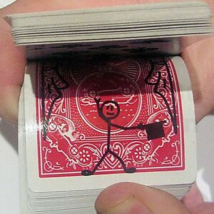 CARTOON-CARDTOON-DECK-PACK-PLAYING-CARD-TOON-MAGIC-TRICK-ANIMATION-PREDICTION