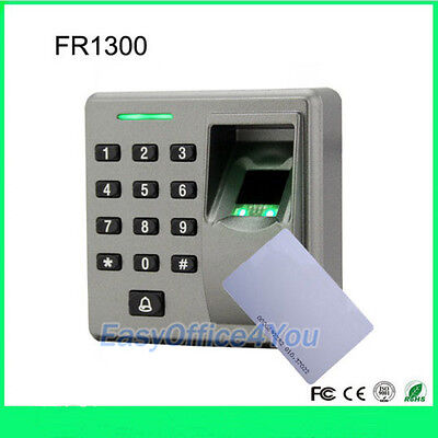 Fingerprint And Keypad Slave Reader For Access Control Rs485 Connection Fr1300
