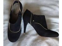 Rockport ladies black ankle boots new