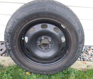 4 Winter Tires on Steel Rims