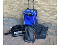 PUMA PING MIZUNO GOLF BAGS - from £10 to £35 - CASH ON COLLECTION ONLY