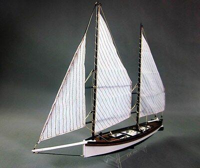 Scale 1/24 Sharpie wood ship model kit laser cut wood boat model kit