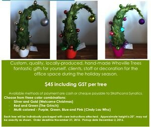 Whoville Christmas Trees - Fundraiser