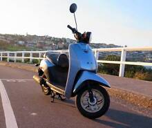 great Honda NVS50 NVS 50 Today Scooter blue Citycruiser new Rego Waverley Eastern Suburbs Preview