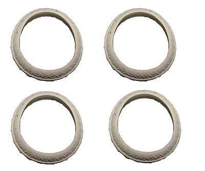 4 Pack Pool Cleaner Tire Replacement For Letro Legend Platinum LLC1PM