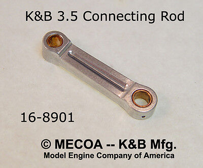 K&B 3.5 Outboard and Aero Motor Engine CONNECTING ROD NEW PRODUCTION  NIP for sale  Azusa