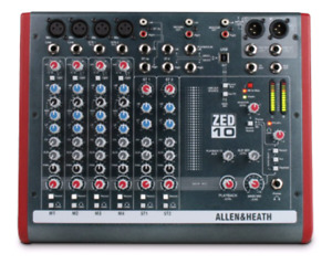 New Allen &Heath ZED 10 - Never used, mint