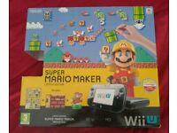 Boxed Wii U console plus 9 top digital games