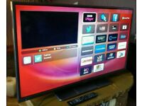 "HITACHI 42"" LED FULL HD SMART TV. BUILT IN WiFi FREEVIEW HD. HDMI NEW CONDITION FULLY WORKING"