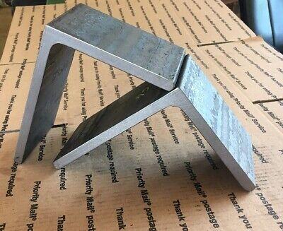 Steel Angle Iron 8 X 6 Heavy Duty Bracing Bracket Shelf 4 Long 12 Thick 2