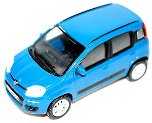 New Shape Fiat Panda Model Car 1/43 in Blue New + Genuine 50907475