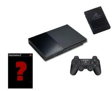 PS2 Startpakket: PlayStation 2 + Controller + Memory Card +