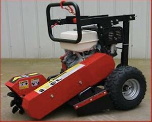STUMP GRINDER HONDA GX390 ROOT TREE TRUNK CUTTER BRAND NEW + 1 YEAR WARRANTY + FREE SHIPPING BRITISH COLUMBIA WIDE !!!!!