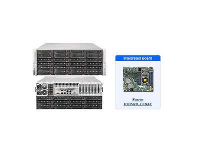 *NEW* SuperMicro SSG-5048R-E1CR36L SuperStorage with X10SRH-CLN4F Motherboard