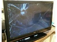 "Luxor 37"" LCD HD TV spares or repairs"