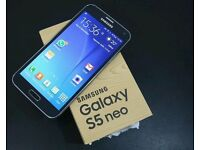 New. Samsung Galaxy new black unlocked