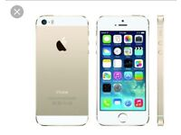Two IPHONE PHONE 5S phones for spares and repairs