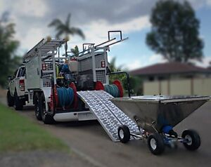 Custom build pressure washer / roof restoration trailer Ormeau Gold Coast North Preview