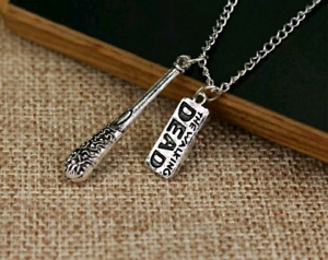 Walking Dead or Dr Who necklace