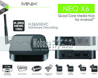 ANDROID BOXES MINIX X6 / X8HPLUS FREE AIRMOUSE! FULLY LOADED