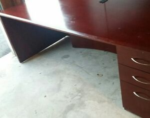 Solid Wood Custom Made Office Table/Desk Large Size