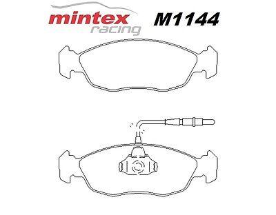Mintex M1144 For Citroen Saxo 1.6 VTR 00>04 Front Race Brake Pads MDB1662